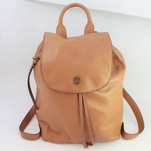Tory Burch Brody Backpack Bark Bag Brown